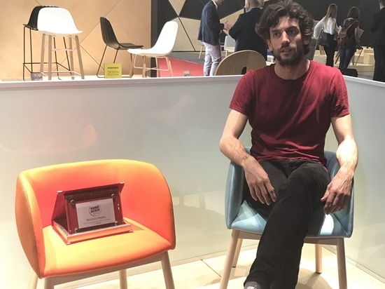 The Young&Design 2017 second award goes to our Mousse by Tommaso Caldera!