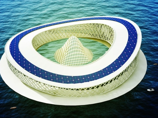 Architect designs solar-powered research center to save dying Lake Chad
