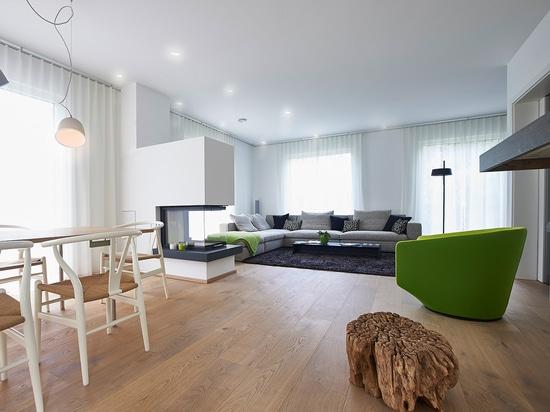"Modern room concept with mafi ""OAK Sand"""