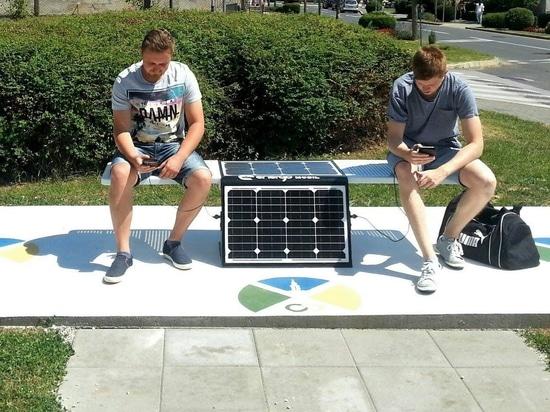 Posušje got the first Solar Bench