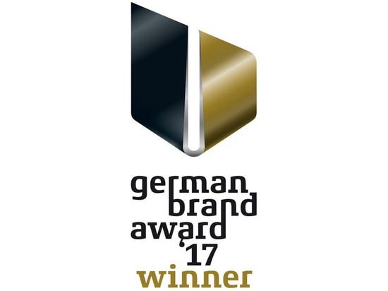 BRUNE wins the German Brand Award 2017