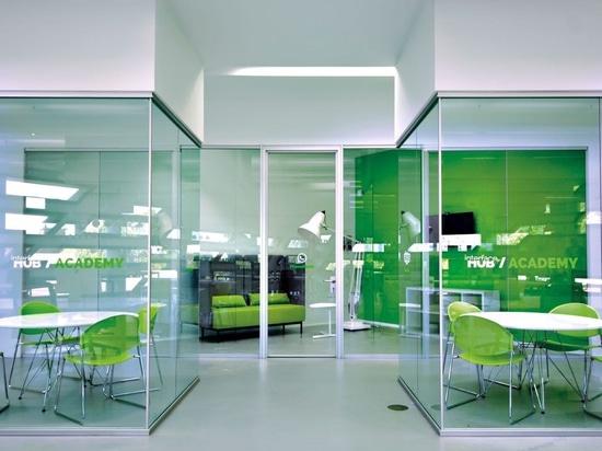 Glazed costumized partitions Kristal