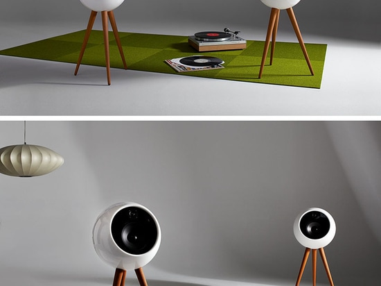 The Moonraker Speaker System Is A Tribute To Mid-Century Design