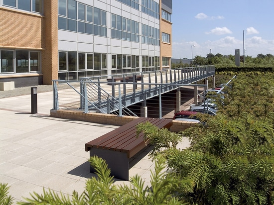 Walkways with Stabilodrain®