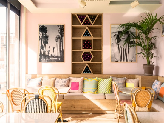 This Color-Filled Cafe Has Opened In Madrid