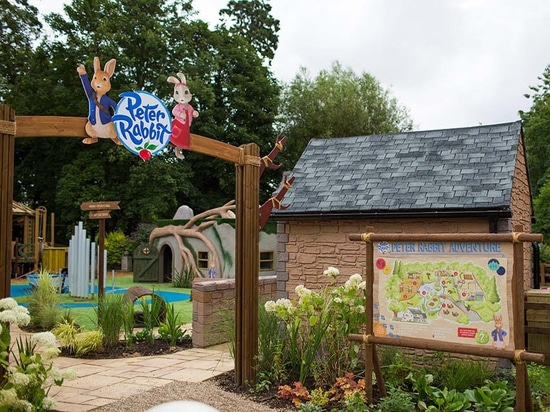Peter Rabbit arrives at a second theme park in the United Kingdom