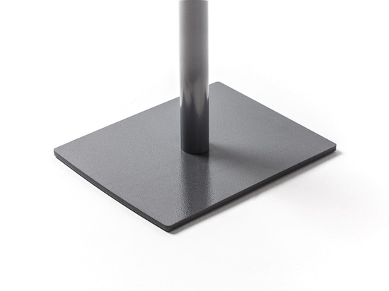 Steel base without wheels