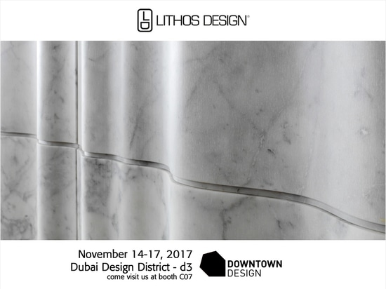 Lithos Design exhibits at Downtown Design for the first time