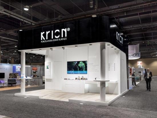 "KRION representing PORCELANOSA Group with K-LIFE, at ""HCD - Healthcare Design"" Orlando, Florida"