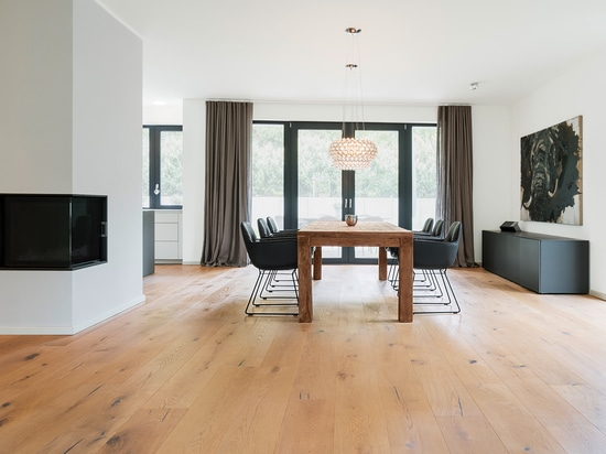 "Timeless living with mafi ""OAK Country, brushed, 1x natural oiled and 1x white oiled"""