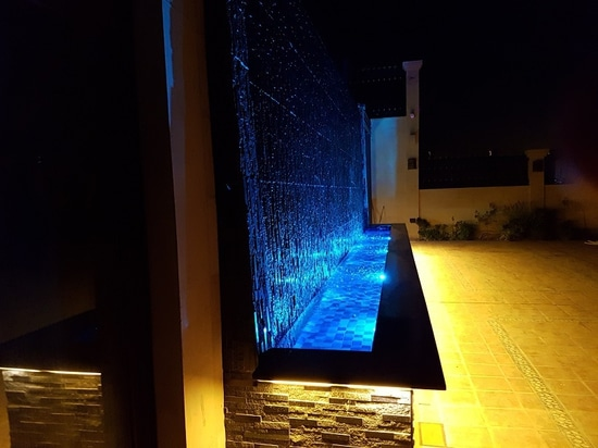Underwater LED lights for high-end architectural pools