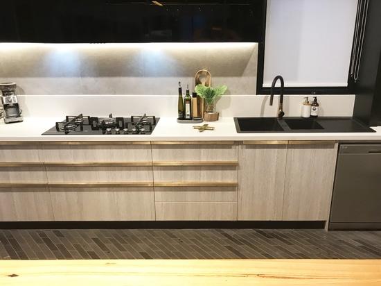 Awa Faucet Fleaker kitchen sink tap @ Project 101 Thornbury, Australia
