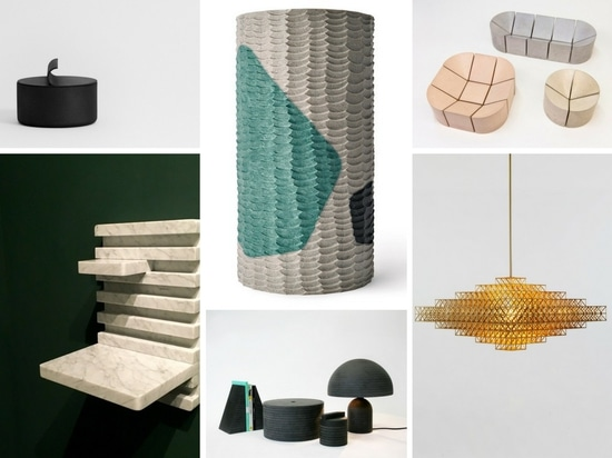 Products designed by Philippe Malouin.