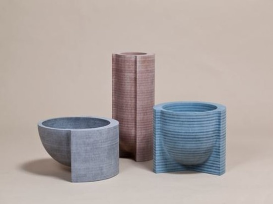 Mdf Vessels for Jay by Philippe Malouin. Courtesy of the designer.
