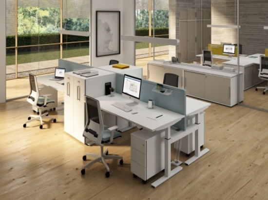 Crank - Height adjustable desking