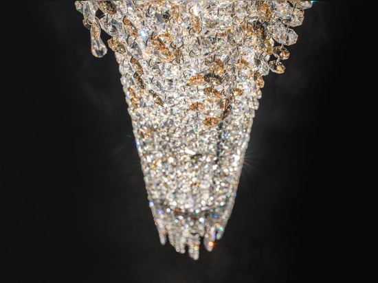 Fjord crystal chandelier
