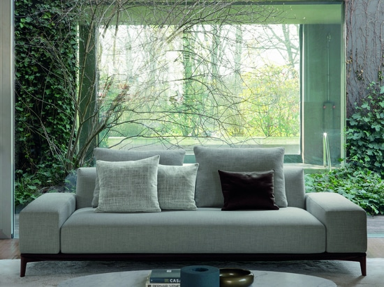 ELEGANT, HARMONIOUS AND ESSENTIAL:  	THIS IS OVERPLAN, THE NEW DÉSIRÉE SOFA