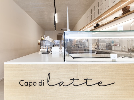 The first Lapitec® ice cream parlour