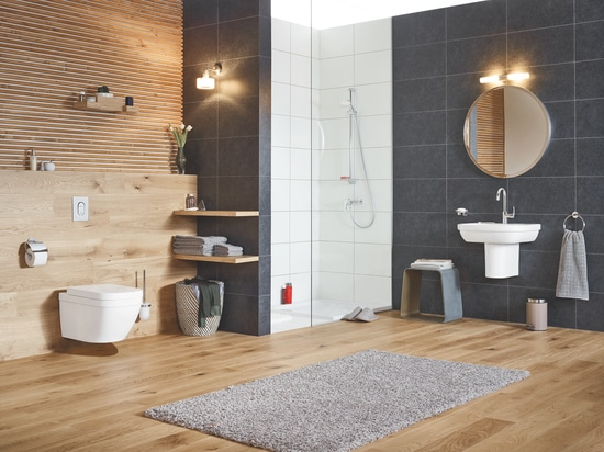 GROHE ENTERS THE WORLD OF CERAMICS CREATING PERFECTLY COORDINATED BATHROOMS