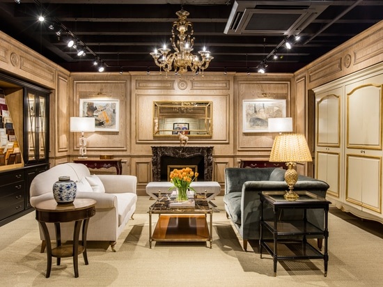 Oficina Inglesa releases first images of their new showroom at the Design Centre Chelsea Harbour