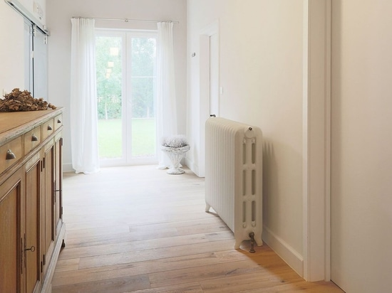 Classic Grace with a mix of American vintage radiators