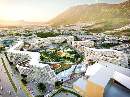 Zaha Hadid's first project in Mexico is a honeycomb housing complex