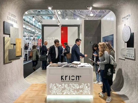 Retail Design Expo London ends with KRION and L'Antic Colonial representing PORCELANOSA Group