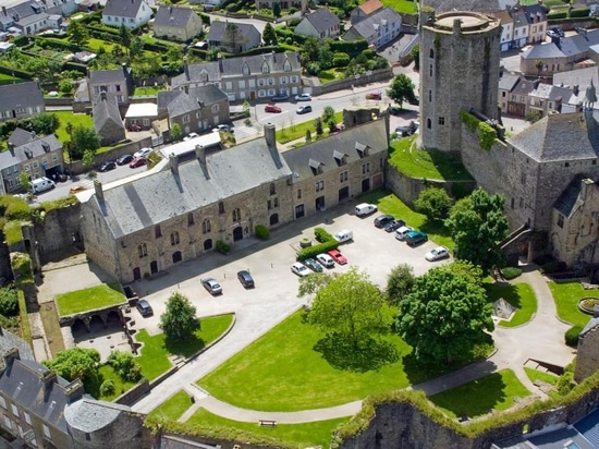 Chateau de Bricquebec, Lower Normandy