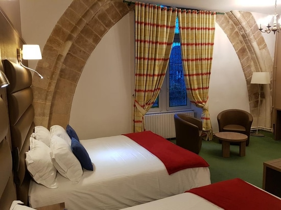 MOBILSPAZIO HAS FURNISHED A CASTLE IN LOWER NORMANDY DATING BACK TO 300 A.D