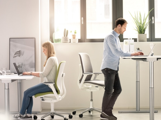 Alternating between sitting and standing