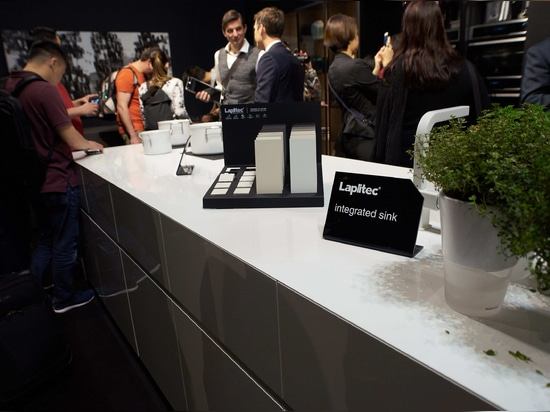 Lapitec® choice of the most famous brands present at Salone del Mobile.Milano® and Fuorisalone