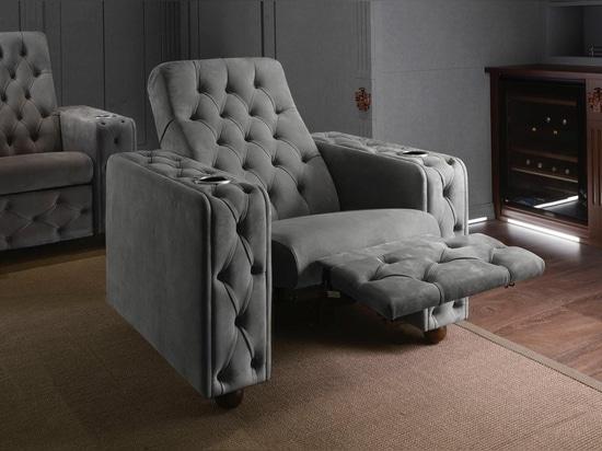 Cinema armchair: lying position
