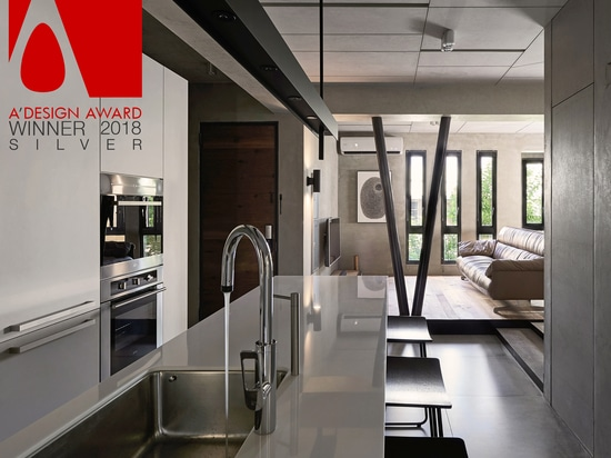 Silver A'Design Award 2018 Winner featuring Awa Faucet Ulysse kitchen  tap