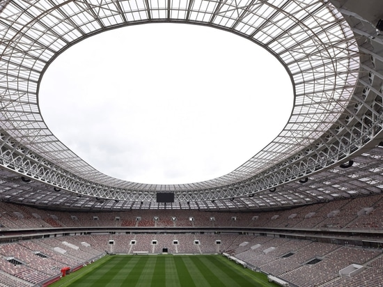 Moscow's historic Luzhniki Stadium refurbished for World Cup 2018