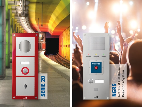 Emergency call stations series 20 and NGRS