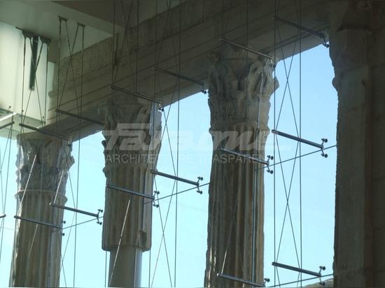 "Temple Restoration ""Temple of Augustus"". Pozzuoli, Naples. Italy"