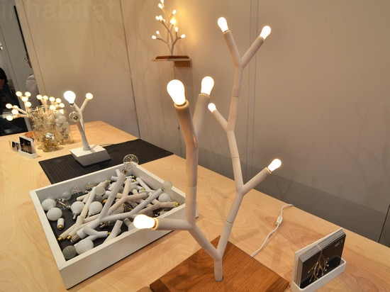 Splyt's LED light trees are made from modular parts - so you can build your own!