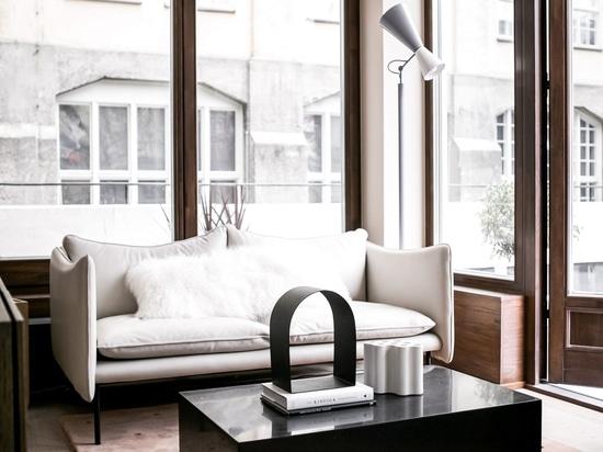 Note Design Studio's small city apartments are designed for socialising