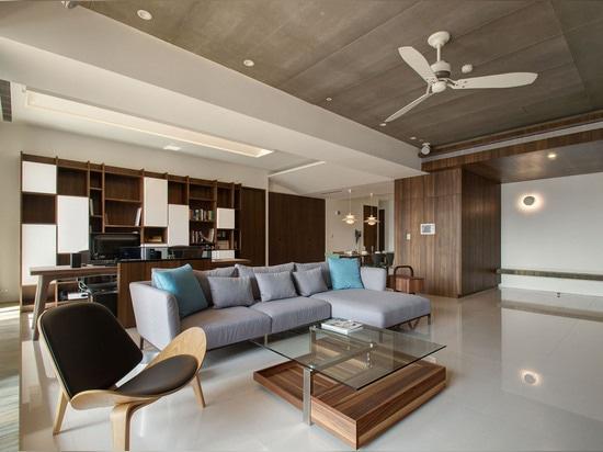 Modern Apartment Designs by Phase6 Design Studio