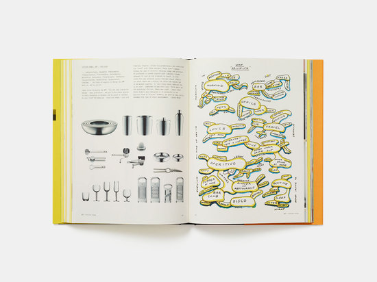 These pages show Irvine's kitchen range for German tableware purveyor WMF (2001-6). He loved working with stainless steel, which he thought to be timeless. The diagram on the right page gives a gli...