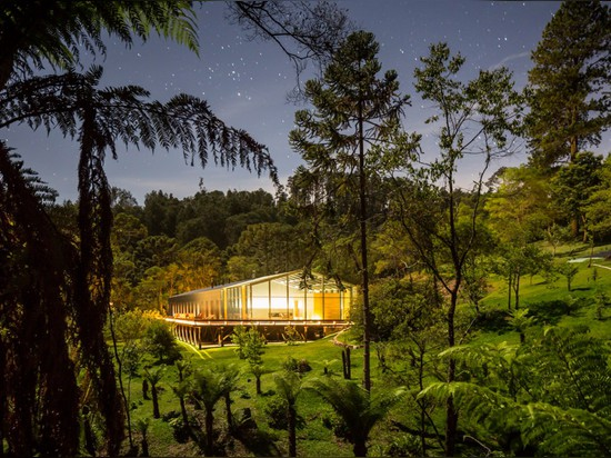 Casa Mororó by Studio MK27 is a 65-metre-long house in rural Brazil