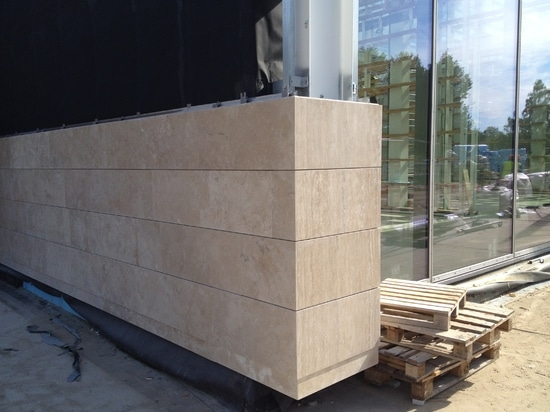The making of the external walls