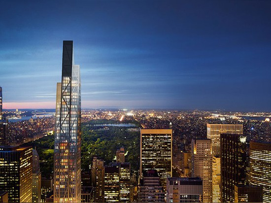 jean nouvel's 53W53 skyscraper breaks ground in new york