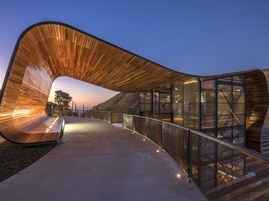 This Brewery In Brazil Was Designed With A Wave-like Roof