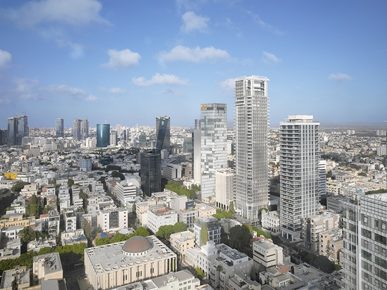richard meier's rothschild tower adds to tel aviv's bauhaus heritage