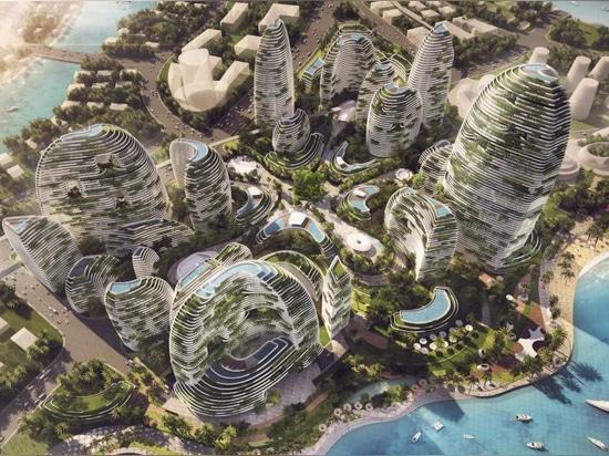Futuristic green city design runs like a real rainforest in Malaysia