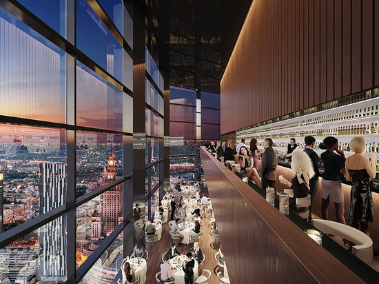 foster + partners starts work on varso tower, poland's tallest building