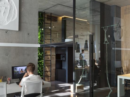 Office and showroom of architectural workshop Sergey Makhno