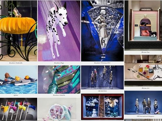 An ensemble of projects by Joann Tan Studio. Photo screenshot of the studio's website.