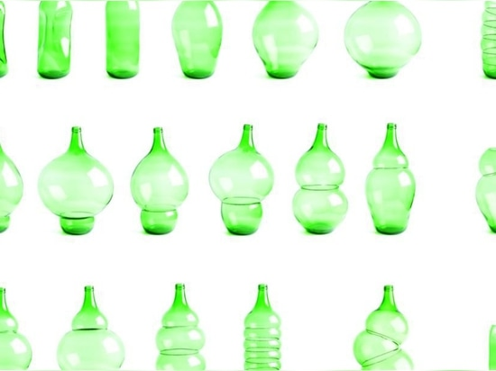 Klaas Kuiken turns common green bottles into incredible vases with this clever trick